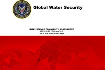 Water security – a different perspective