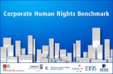 Corporate Human Rights Benchmark newsletter