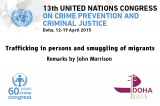 Thirteenth UN Congress on Crime Prevention and Criminal Justice