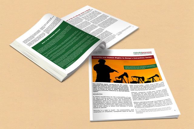 Briefing Paper: Security and Human Rights in Kenya's Extractives Sector