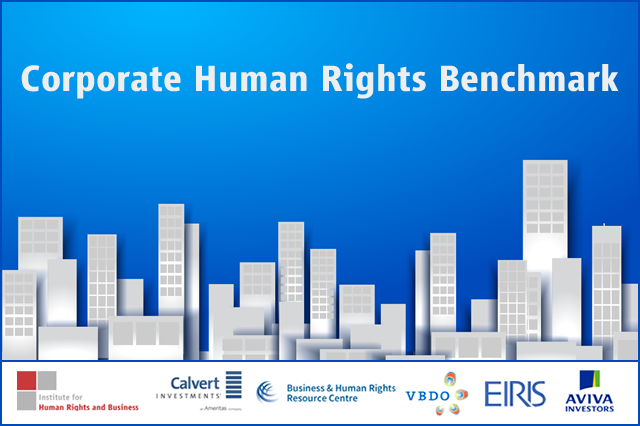 Corporate Human Rights Benchmark (CHRB)