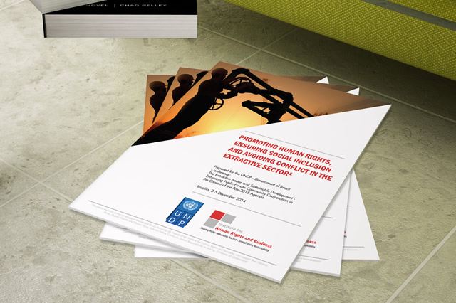 IHRB paper for Government of Brazil & UNDP event addresses role of extractive sector in promoting human rights