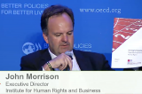 Remarks by John Morrison on Mega Sporting Events and Human Rights at OECD Global Forum on Responsible Business Conduct