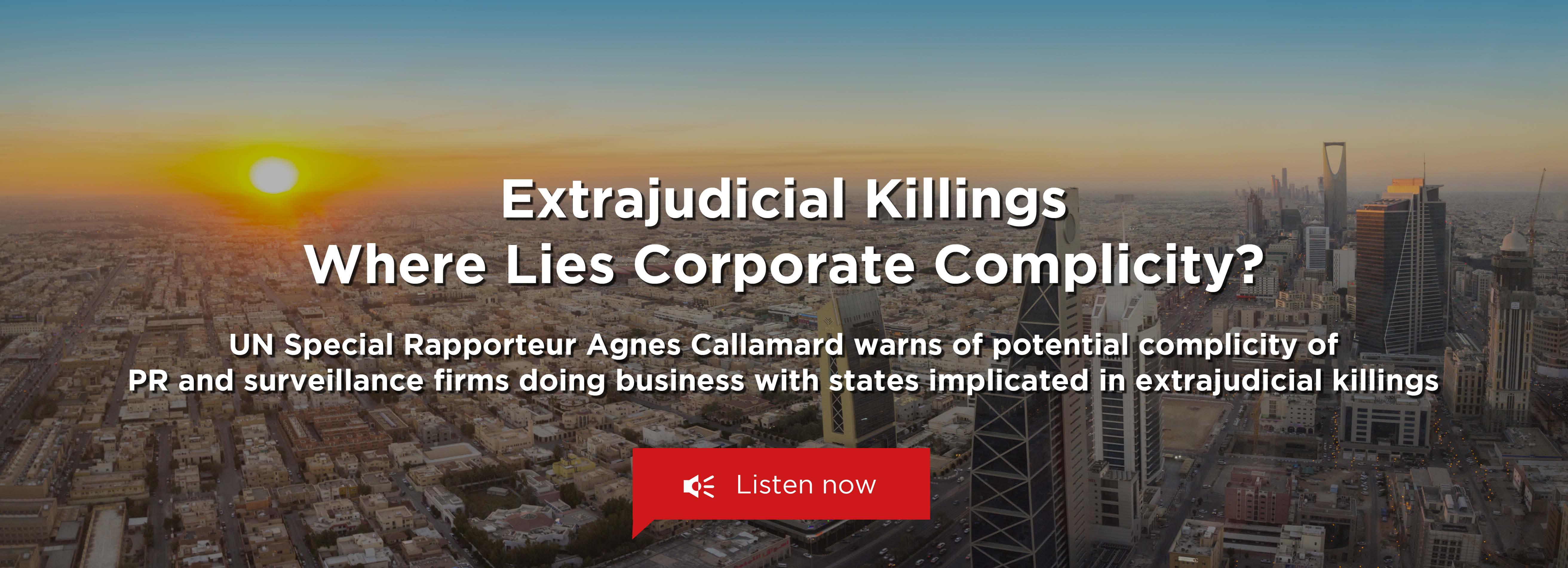 UN SR Extrajudicial Killings