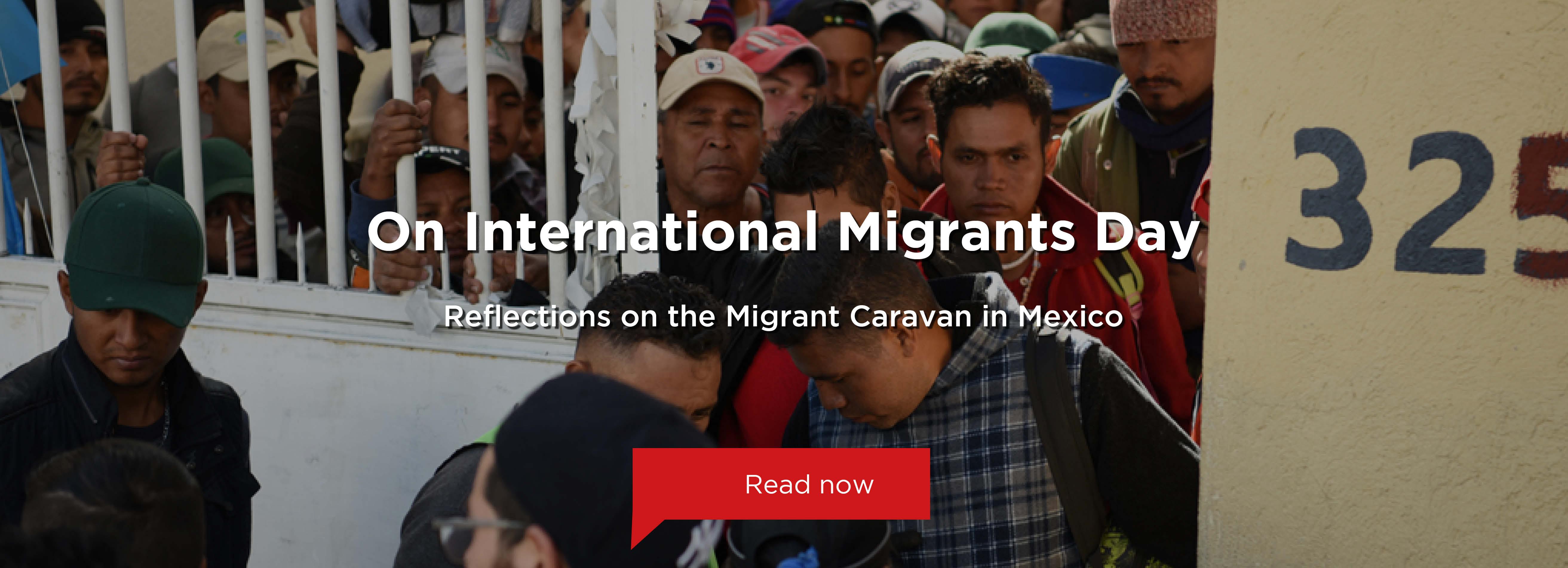 Migrant Caravan in Mexico