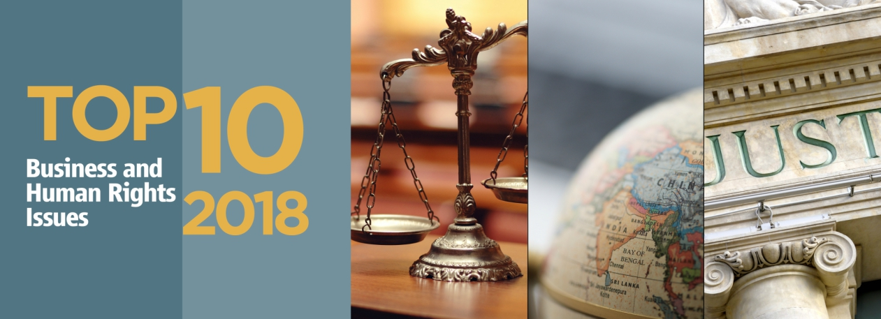 The Top 10 Business & Human Rights Issues for 2018