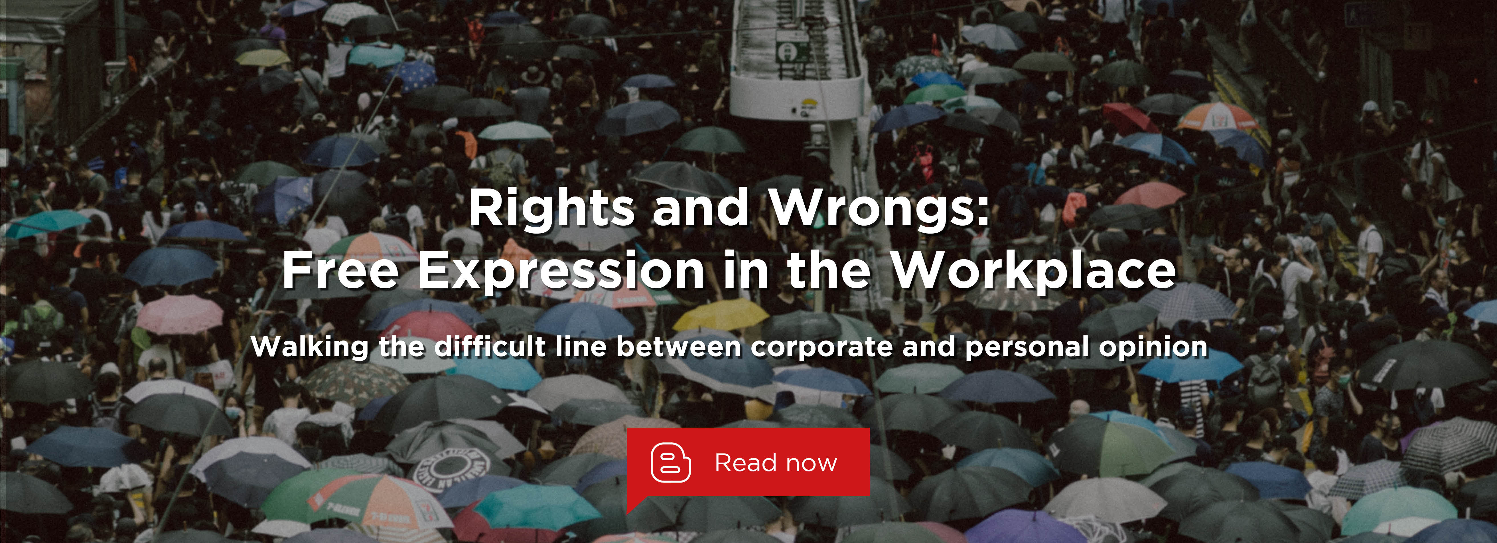 Rights and Wrongs - Free Expression in the Workplace