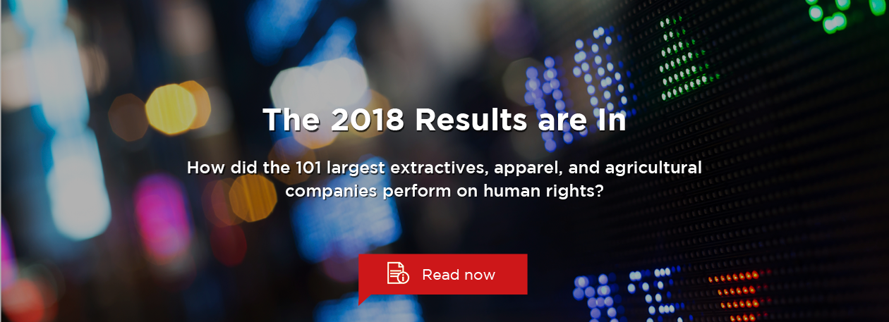 The 2018 Results of the Corporate Human Rights Benchmark