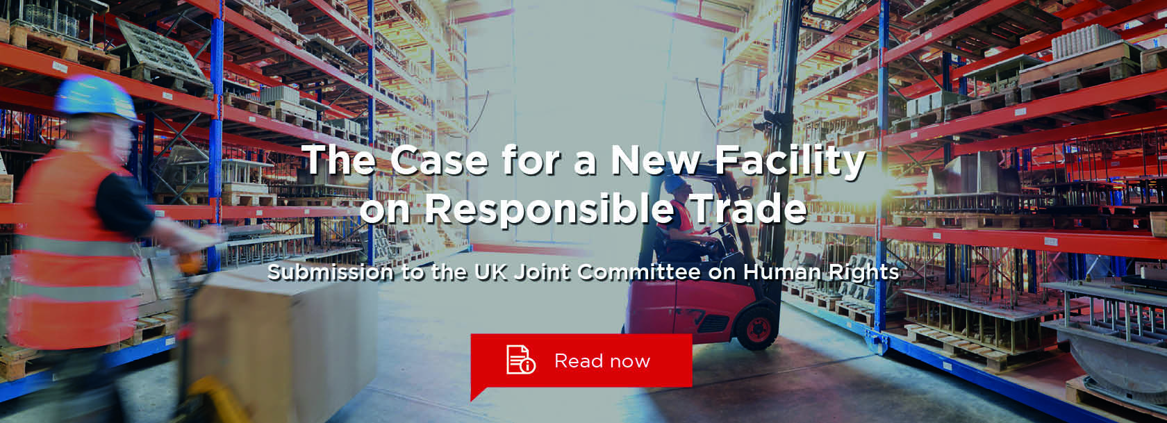 The Case for a New UK Facility on Responsible Trade