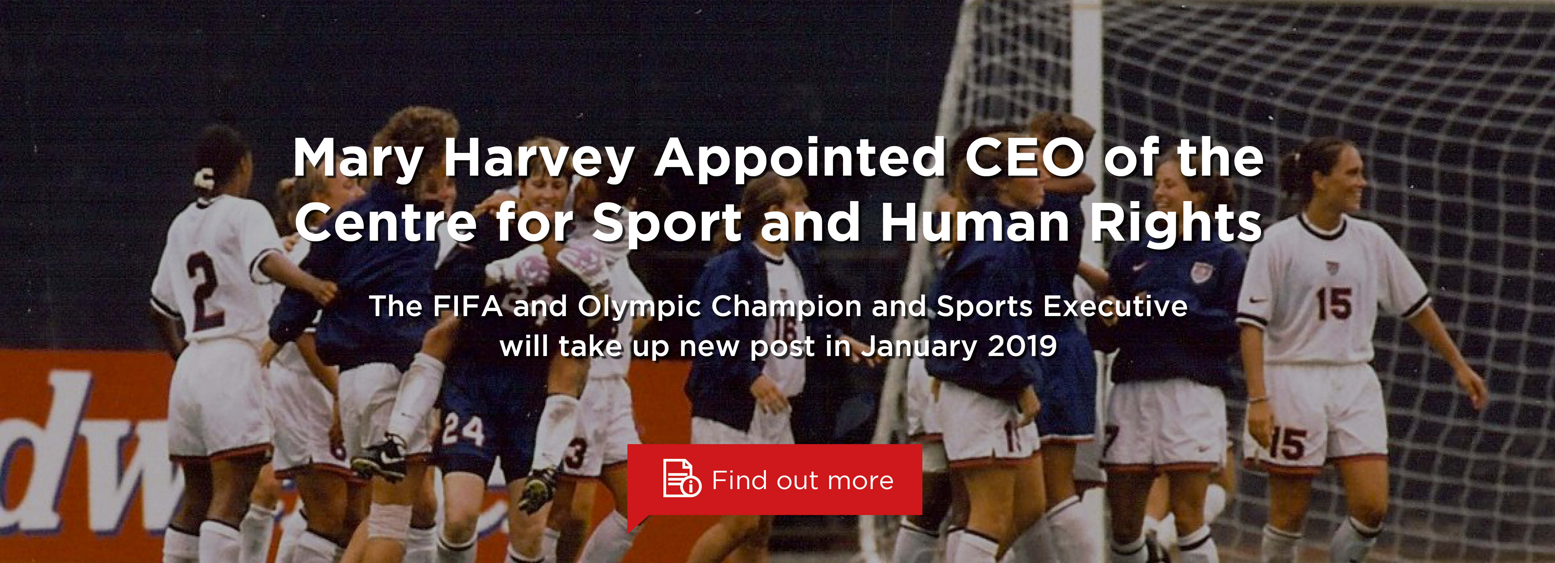 Mary Harvey Appointed CEO of CSHR