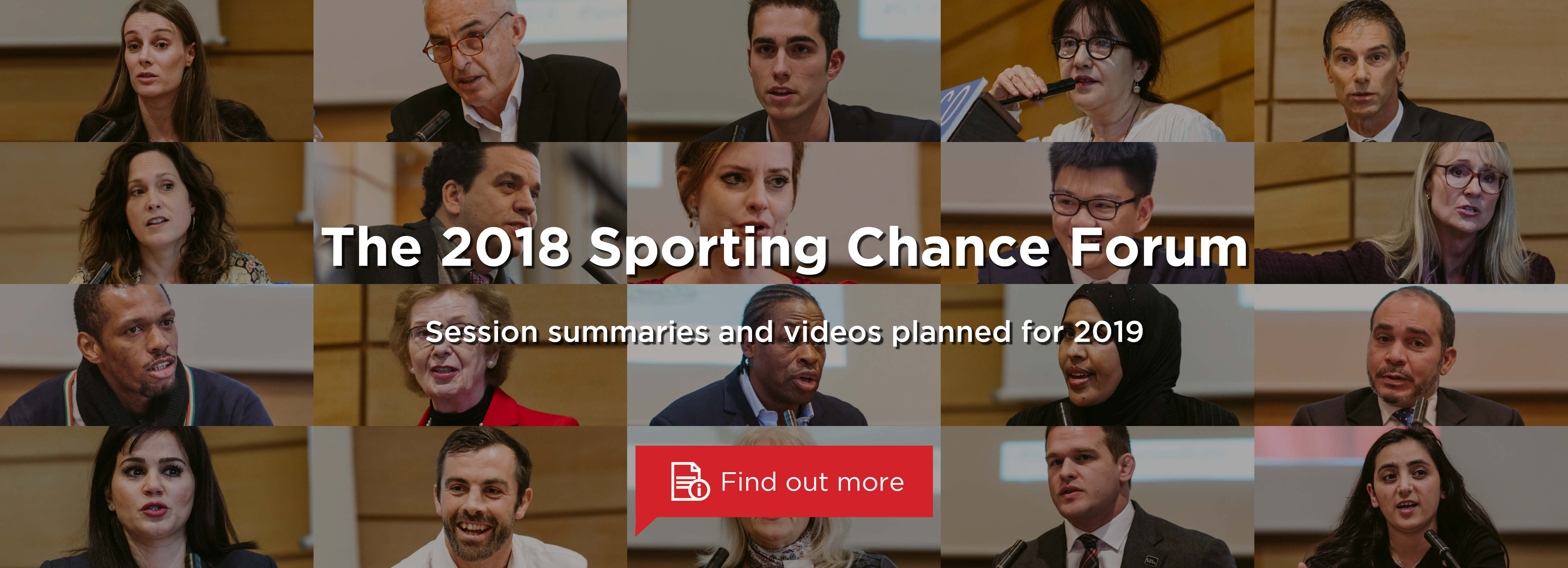 The 2018 Sporting Chance Forum