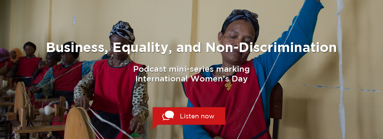 Podcast mini-series marking International Women's Day