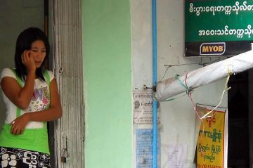 As of end-2014, it is estimated that 30 percent of Myanmar's population now has access to a mobile phone. In 2015, the country may now experience the world's fastest-ever deployment of mobile services. Photo: Michael Coghlan.