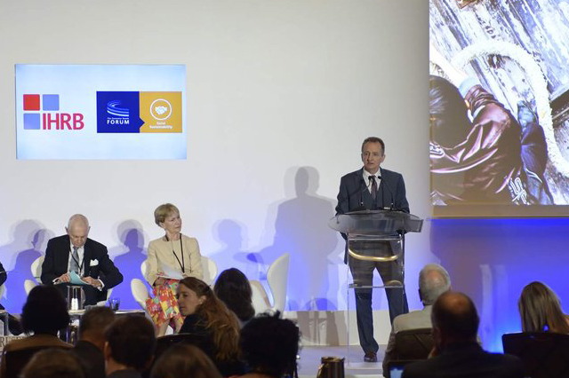 6eef4f406918 Mars Inc CEO Grant Reid Addresses 2018 Global Forum on Responsible  Recruitment and Employment