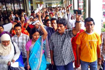 Bangladeshi Migrant