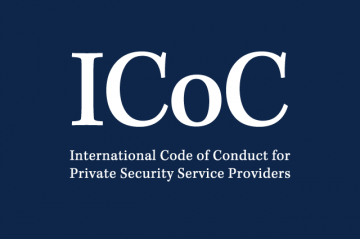 The International Code of Conduct for Private Security Service Providers (ICoC) sets out human rights based principles for the responsible provision of private security services.