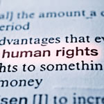 Human rights text