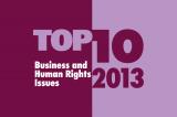 Top Ten Issues in 2013