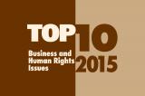 Top Ten Issues in 2015