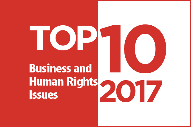Top Ten Issues in 2017