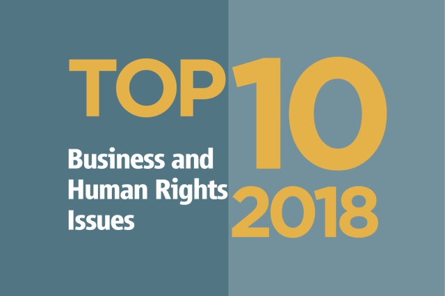 Top Ten Issues in 2018